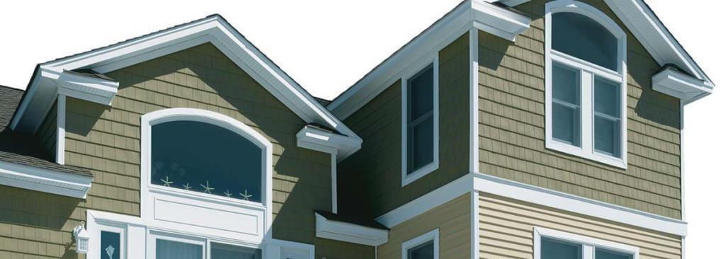 Saint Gobain Vinyl Sidings for slant roof
