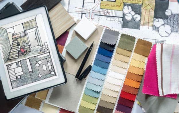interior design - colour palettes