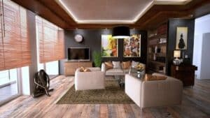 interior design - furniture grouping