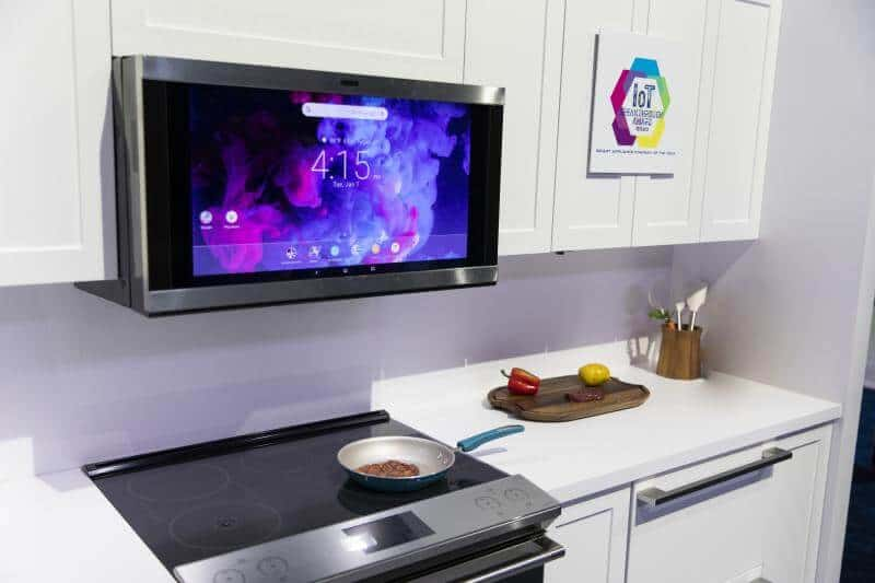 GE NextGen Kitchen Hub - Smart Kitchen Appliances - Lets you watch movies, videos while cooking