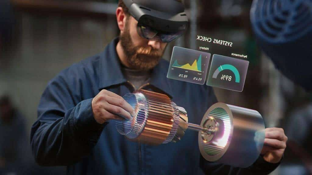 Microsoft HoloLens Goggles with Plastic Straps