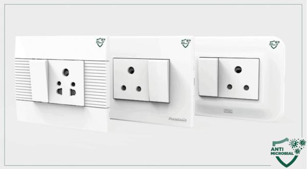 Panasonic Antimicrobial Range of Modular Switches