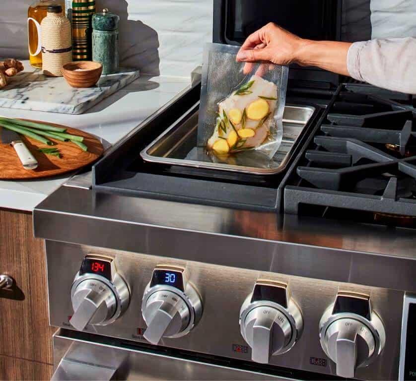 Signature Kitchen Suite is meant for latest cooking techniques for kitchen platform design
