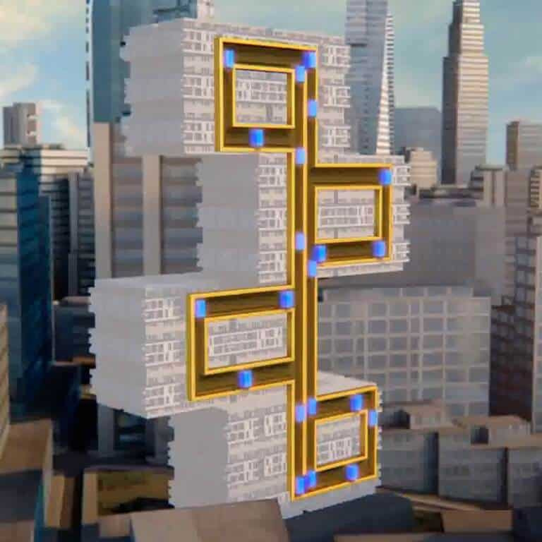 Thyssenkrupp Multi horizontal and vertical movement lift - Lifts and elevators