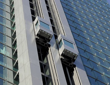 Toshiba outdoor lifts and elevators