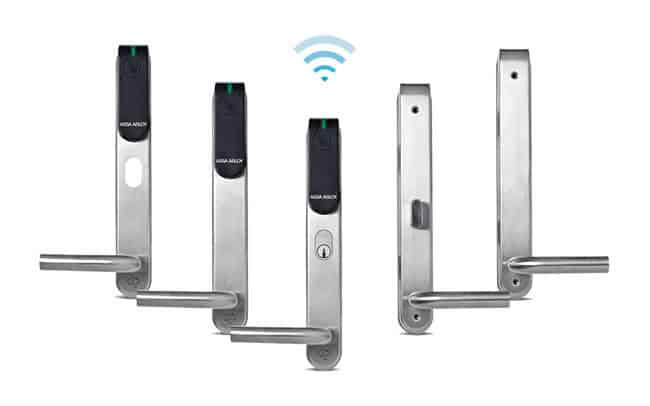 assa abloy mechanical and digital locks for automatic door systems