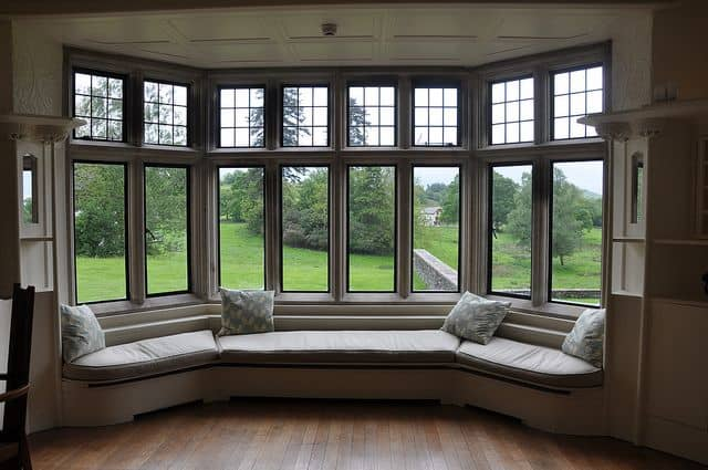 UPVC windows - bay window