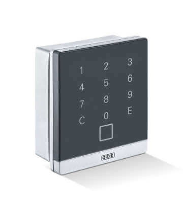 Geze access control systems - burglar-resistant controlled access.