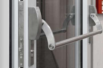 GEZE self locking panic door