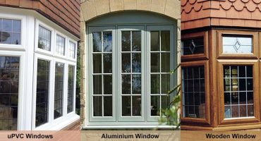 UPVC windows, aluminium windows and wooden windows