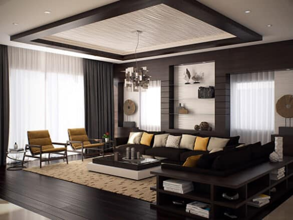 layered false ceiling design