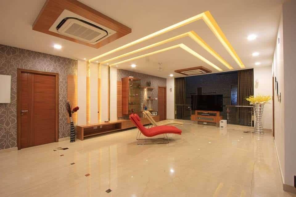 PVC inverted tray false ceiling