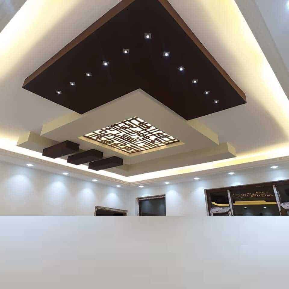 multi-layered false ceiling design