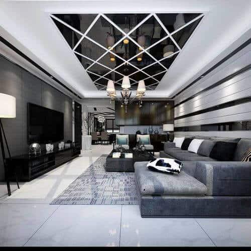 modern false ceiling design for living room