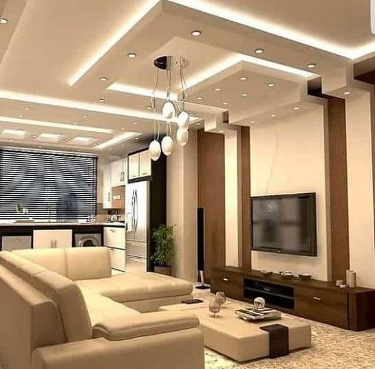 multi-layer false ceiling design