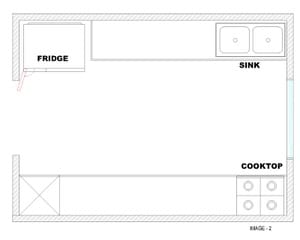 Modular Kitchen - Por layout