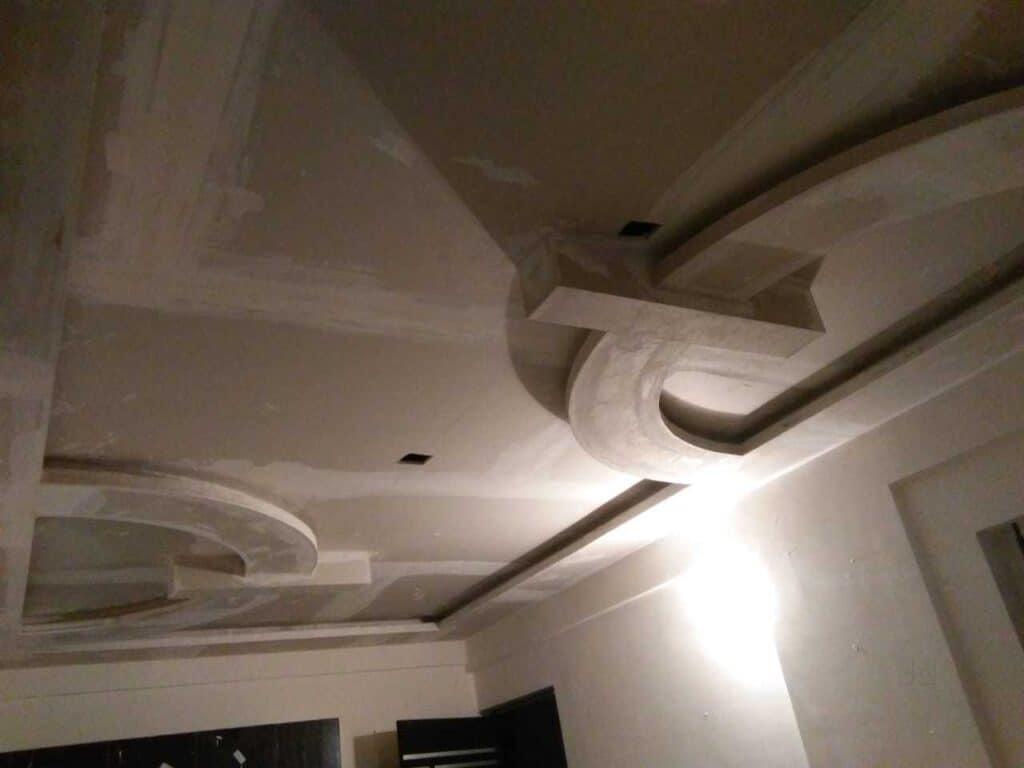 POP ceiling construction