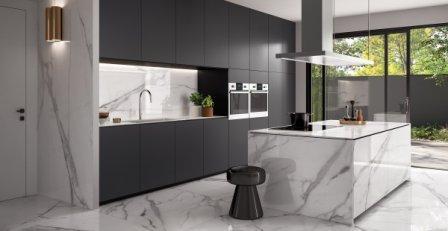 Minimalist Modular Kitchens - Flooring