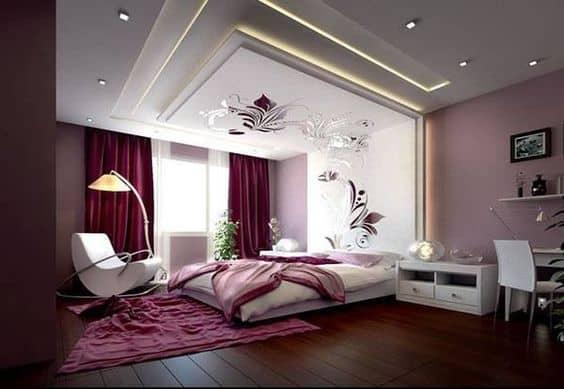 bedroom false ceiling image