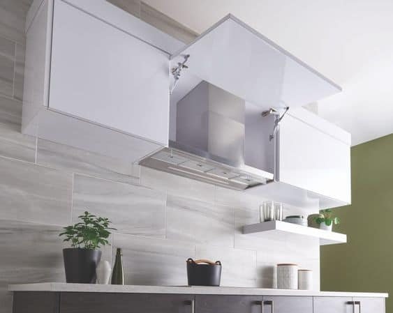 small modular kitchen chimney