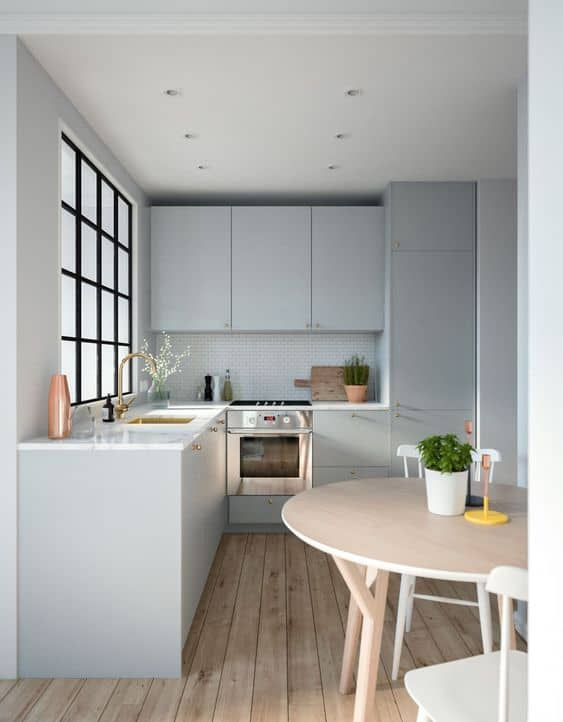 Small modular kitchen images