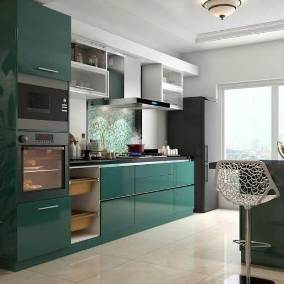 Small modular kitchen emerald