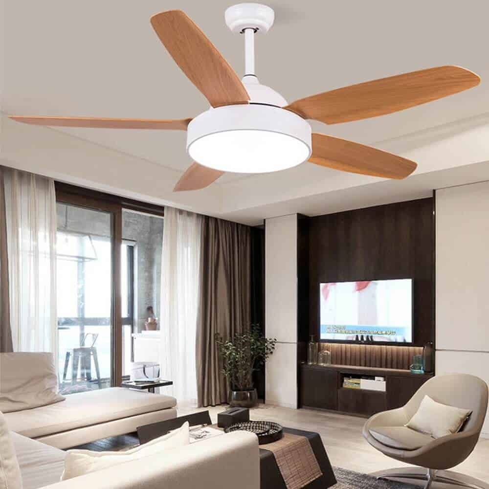 ceiling fan with light for false ceiling