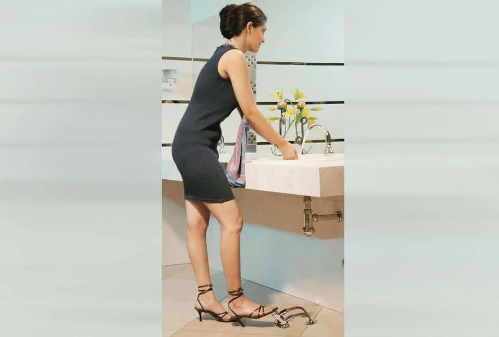 Foot-operated faucet by JAL