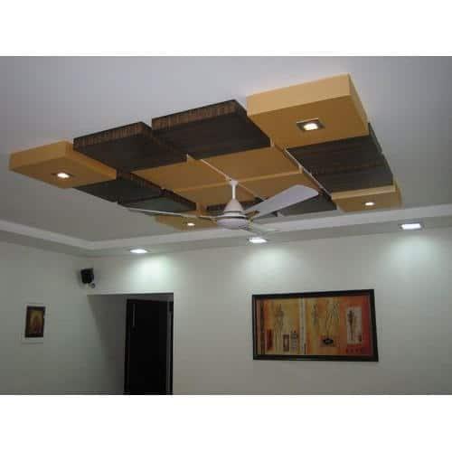 grid false ceiling desing