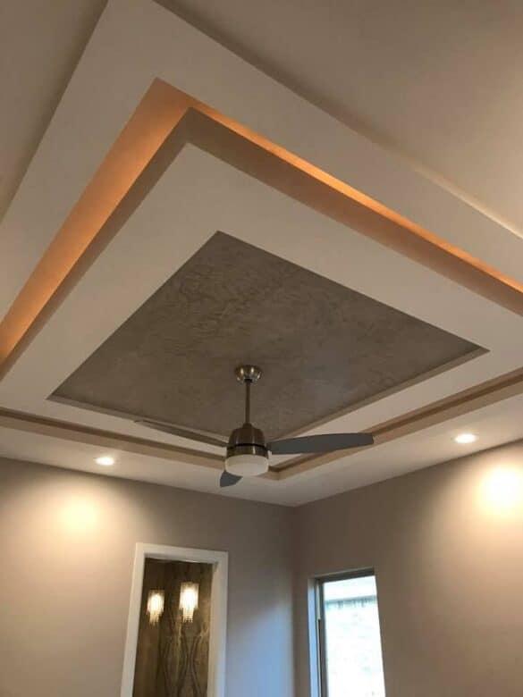 PVC layered false ceiling