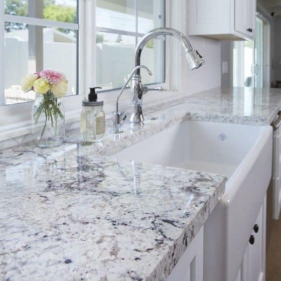 granite countertop for small modular kitchen
