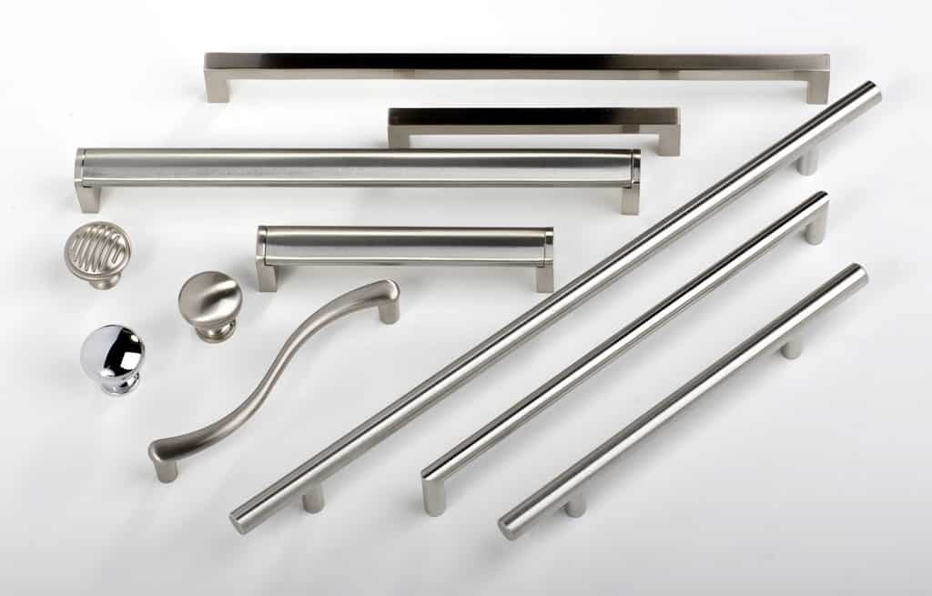Furniture cabinet handles and knobs in furniture fittings