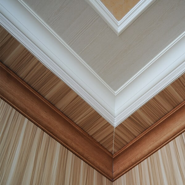 PVC cornices