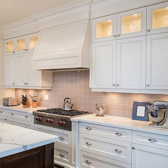 led lights for small modular kitchen