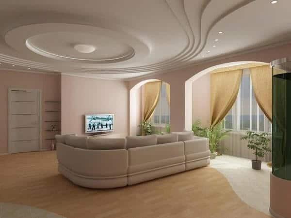 Subtle colours false ceiling ideas