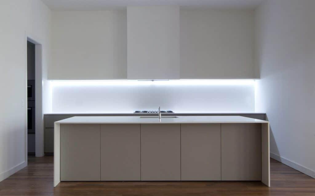 Premium kitchens - LED dado lighting