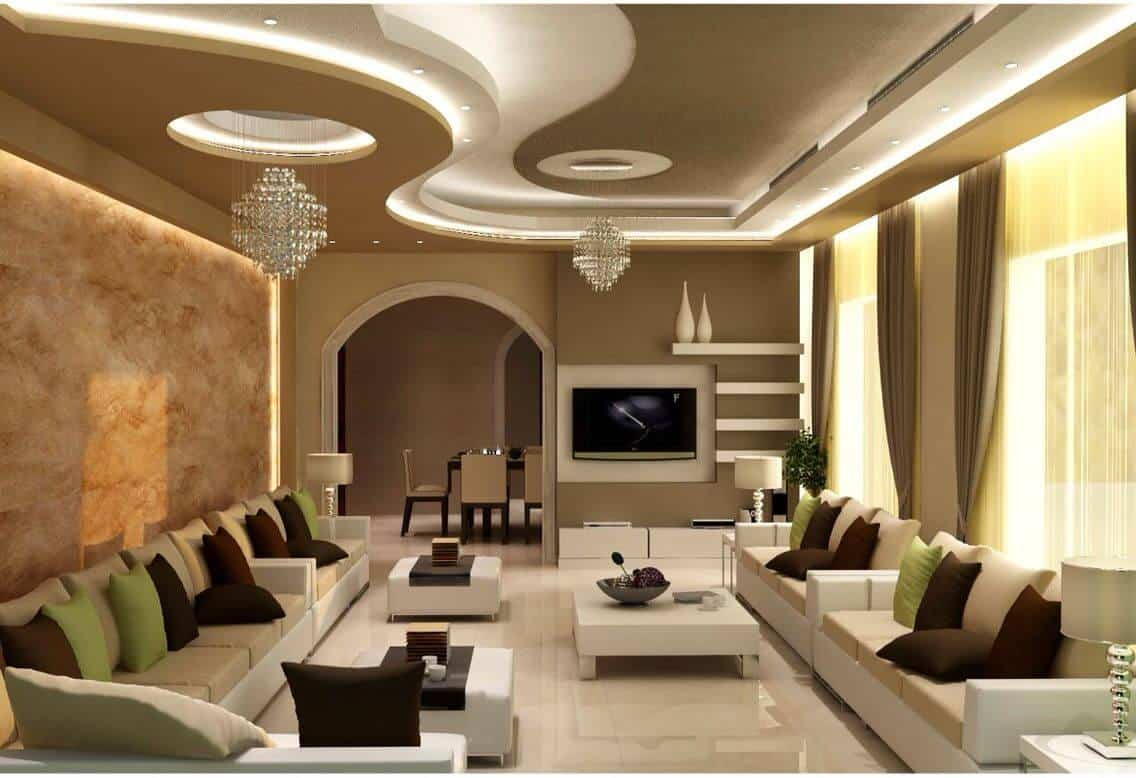 false ceiling design for living rooms