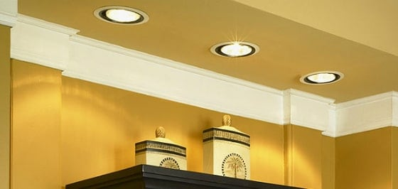 recessed led lights in modular kitchen