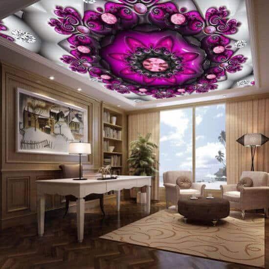 Smart false ceiling design for living rooms