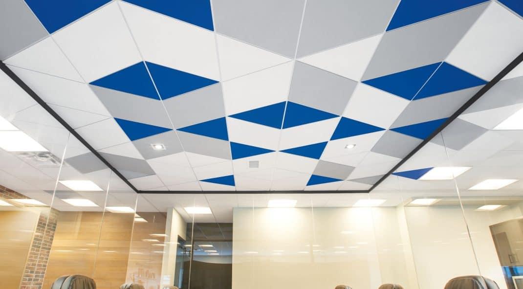 Geometric false ceiling ideas