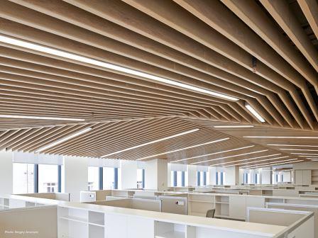 durlum metal ceilings for offices