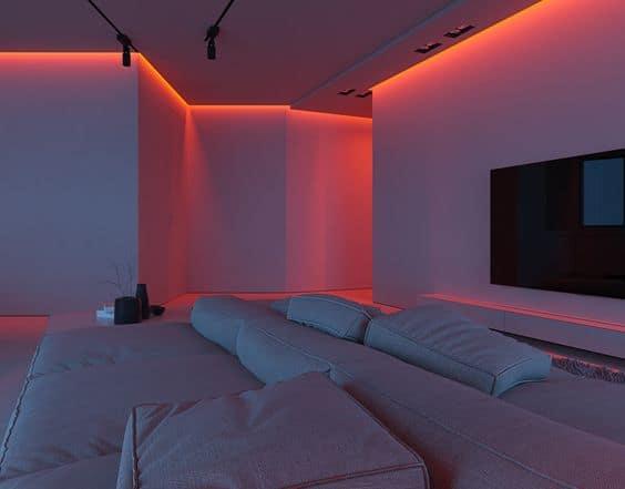 false ceiling cove lighting