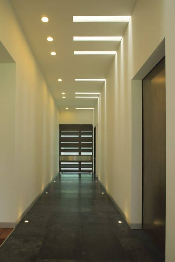 simple ceiling ideas for hallway