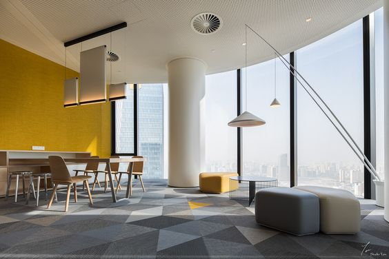simple ceiling ideas for office