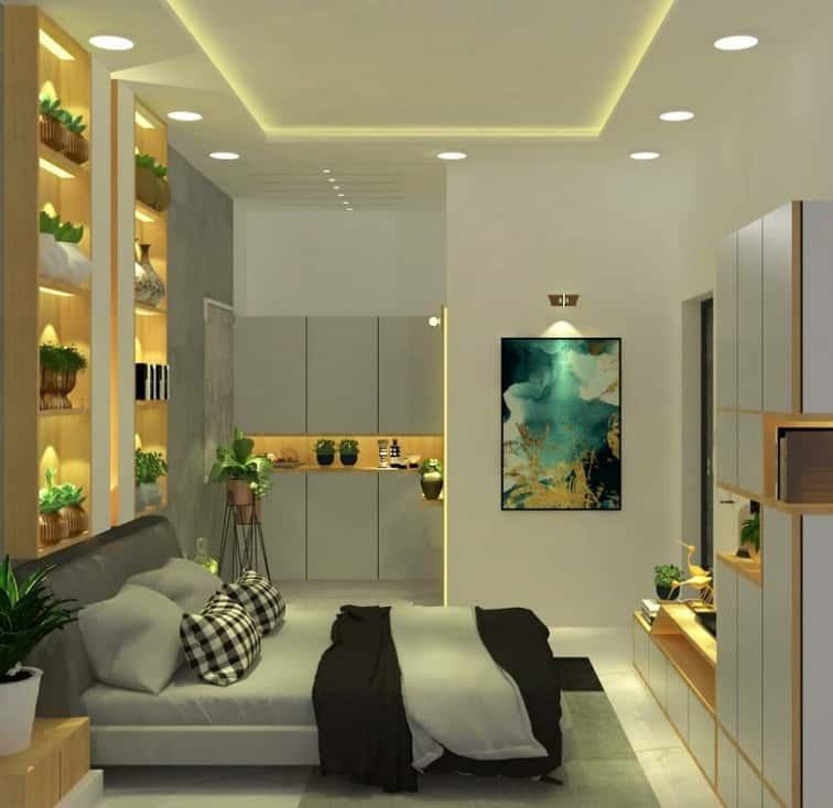 simple false ceiling design for bedroom