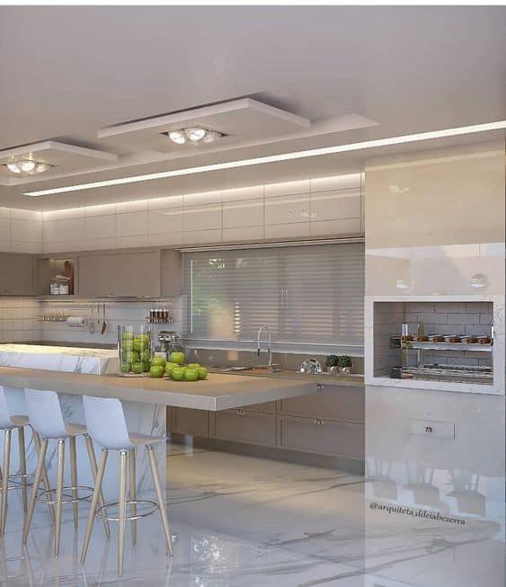 Latest false ceiling for kitchen
