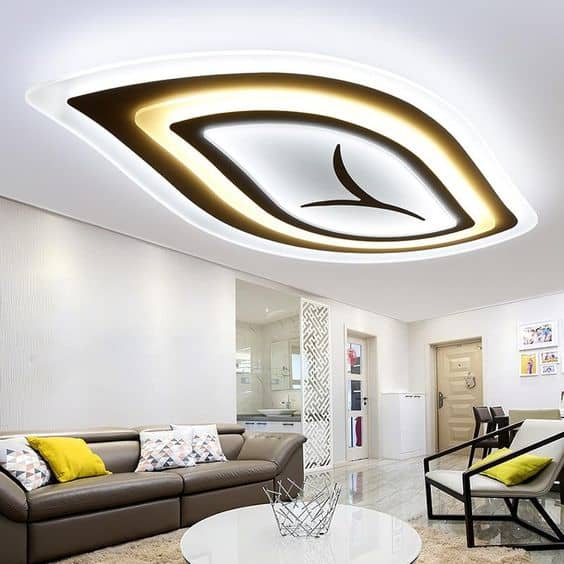 simple false ceiling with lighting solutions