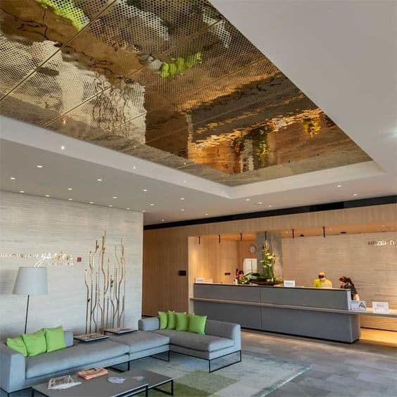 modern false ceiling design for office