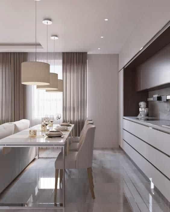 simple false ceiling for kitchen