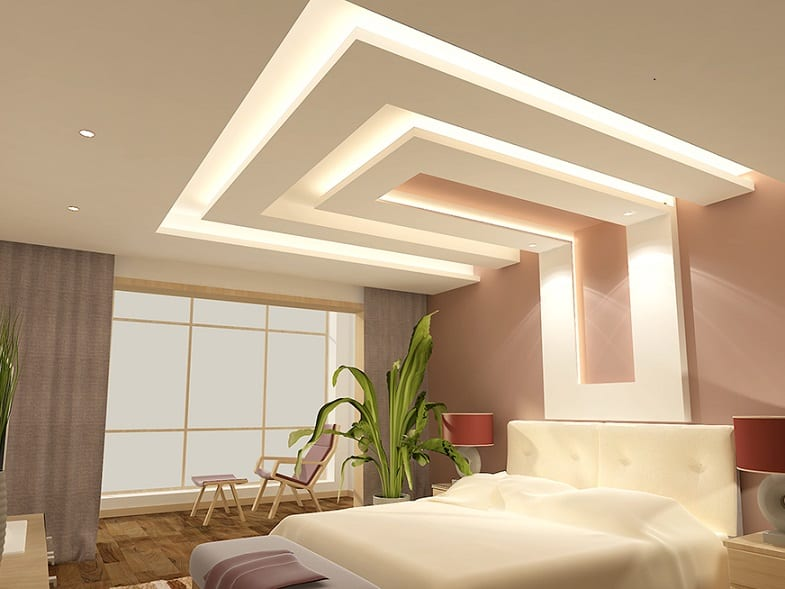 false ceiling idea for bbedroom